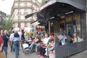 The charm and romance of Paris is on the streets, in the cafes, not easily portrayed with facts.