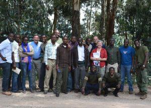 CIG Class at Nyungwe National Park Jan. 2013.