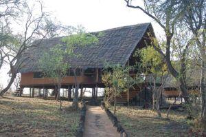 Tent cabin at Kikoti Lodge near Tarangire National Park.