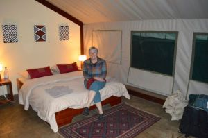 Ruzizi Tent Camp in Akagera National Park is an amazing bush resort with hippos just in front of your very comfortable tent/room.