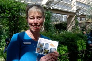 An interpreter at Longwood Gardens might tell a story as part of the experience but uses other media and approaches as well.
