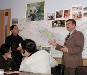 The Wolong Interpretive plan involved managers, scientists and local citizens.