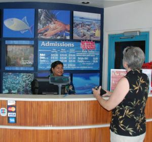 Showing the membership as an annual pass also works at entry (Maui Ocean Center).