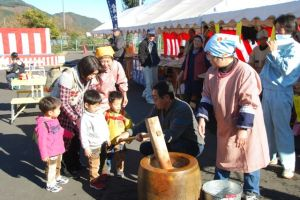 The Sticky Rice Festival in Shibakawa, Japan, celebrates a local food and the people in the community.