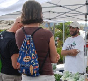 Farmer's markets have become one of these important places to talk story in Hawaii and many other communities.