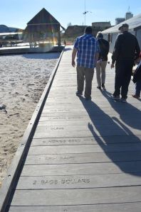 This path near Perth explains the challenges of new immigrants arriving with limited personal resources.