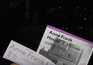 Entry tickets become keepsakes at many places and the message stays around, a reminder of an important story.
